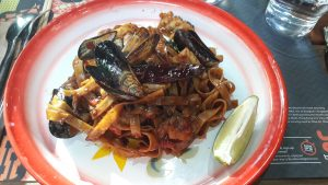 Thai Seafood pasta